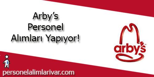 Arby's Personel Alımı ve İş İlanları