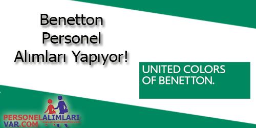 Benetton Personel Alımı ve İş İlanları