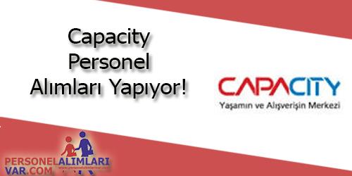 Capacity Avm Personel Alımı ve İş İlanları