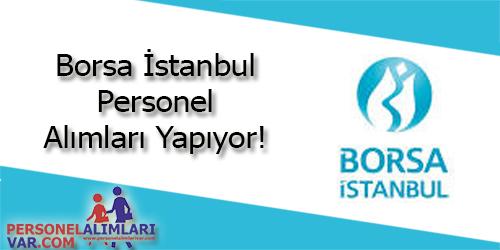 Borsa İstanbul (IMKB) Personel Alımı ve İş İlanları