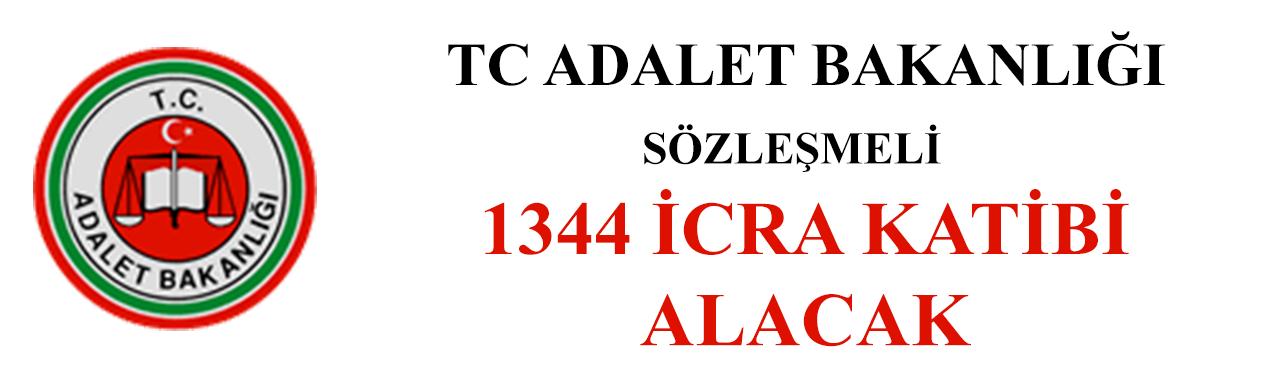 Adalet Bakanlığı 1344 sözleşmeli icra katibi alacak