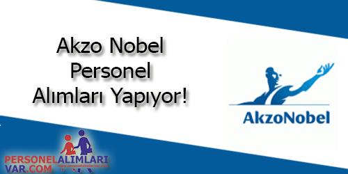 Akzo Nobel Personel Alımı ve İş İlanları