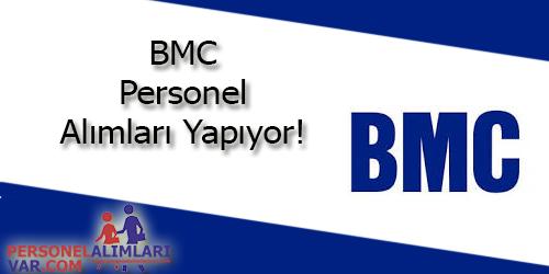 BMC Personel Alımı ve İş İlanları