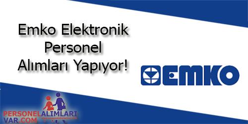 Emko Elektronik Personel Alımı ve İş İlanları