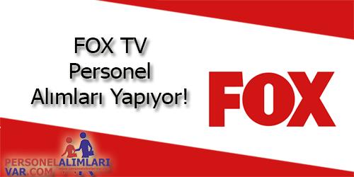 Fox TV Personel Alımı ve İş İlanları