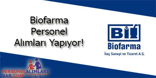 Biofarma Personel Alımı ve İş İlanları