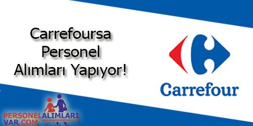 Carrefoursa Personel Alımı ve İş İlanları