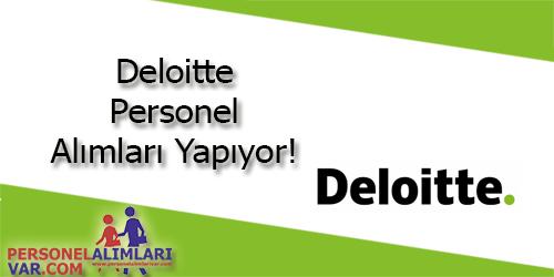 Deloitte Personel Alımı ve İş İlanları