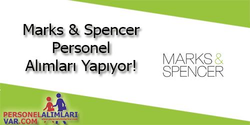 Marks & Spencer Personel Alımı ve İş İlanları