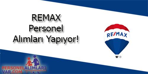 RE/MAX Personel Alımı ve İş İlanları