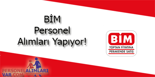 Bim Personel Alımı & İş İlanları - Trabzon