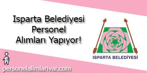 Isparta Belediyesi Personel Alımı ve İş İlanları
