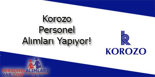Korozo Personel Alımı ve İş İlanları