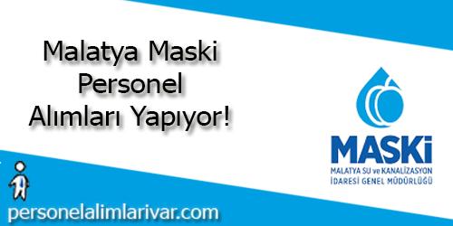 Malatya Maski Personel Alımı ve İş İlanları