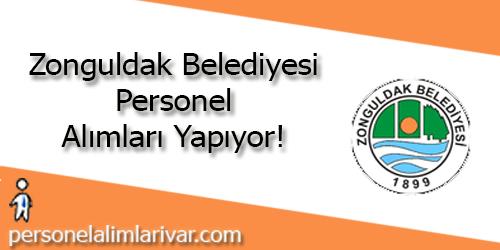 Zonguldak Belediyesi Personel Alımı ve İş İlanları