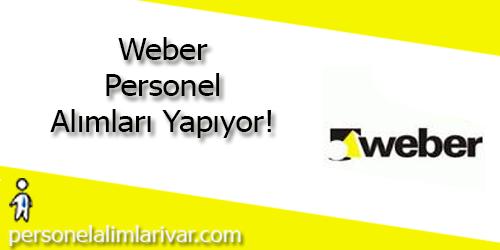 Weber Personel Alımı ve İş İlanları
