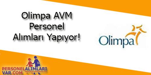 Olimpa AVM Personel Alımı ve İş İlanları