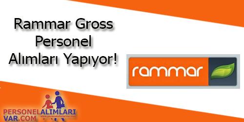 Rammar Gross Personel Alımı ve İş İlanları