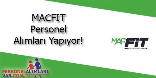 Macfit Personel Alımı ve İş İlanları